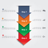 Infographic design template. Vector illustration Royalty Free Stock Image