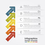 Infographic design template. Vector illustration. Infographic design template with place for your data. Vector illustration Stock Photos