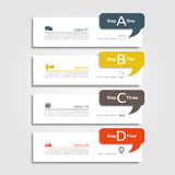 Infographic design template. Vector illustration. Stock Photo