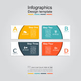 Infographic design template. Vector illustration. Infographic design template with place for your data. Vector illustration Royalty Free Stock Image