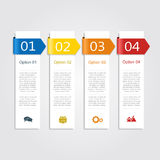 Infographic design template. Vector illustration. Stock Image