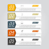 Infographic design template. Vector illustration. Royalty Free Stock Photos