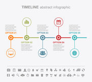 Infographic design templates. Presentation abstract page Stock Photos