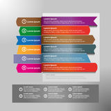 Infographic design vector and marketing icons can be used for workflow layout, diagram, annual report, web design. Business concept with 4 options, steps or Royalty Free Stock Images