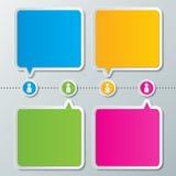 Infographic-Designhintergrund Lizenzfreies Stockfoto