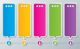Infographic-Designhintergrund Lizenzfreie Stockfotos
