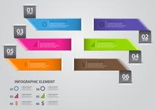 Infographic designmall stock illustrationer