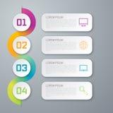 Infographic designmall Royaltyfri Foto