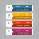Infographic-Designschablone mit Platz für Ihre Daten Auch im corel abgehobenen Betrag Lizenzfreies Stockfoto