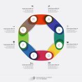 Infographic diagram Royaltyfri Fotografi