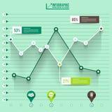 Infographic diagram Arkivbilder