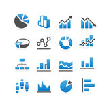 Infographic Diagram Graph icon Stock Images