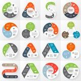 Infographic, diagrama, 3 opciones, piezas, pasos libre illustration