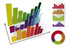 Infographic Diagramm. Lizenzfreie Stockbilder