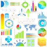 Infographic-Diagramm von Daten stock abbildung