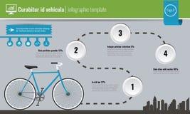 Infographic ekologibegrepps- eller för dag för världsmiljö begrepp också vektor för coreldrawillustration stock illustrationer