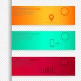 Infographic elementów wektorowy ustawiający na przejrzystym tle Zdjęcie Stock