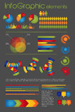 infographic element Stock Illustrationer