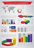 infographic element royaltyfri illustrationer