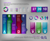 Infographic element Obrazy Royalty Free