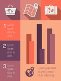 Infographic Element Stockfoto