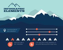 Infographic element Obraz Royalty Free