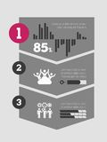 Infographic Element Stockbilder