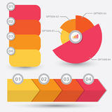 Infographic element design Royalty Free Stock Photography