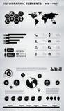 Infographic element för affär royaltyfri illustrationer