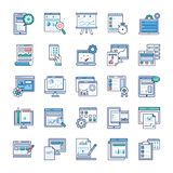 Infographic Elements Flat Vectors Set stock illustration