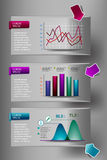 Infographic element Royalty Free Stock Images