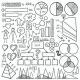 Infographic-Element-Satz Lizenzfreie Stockfotos