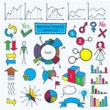 Infographic-Element-Satz Stockbild