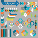 Infographic Element Set. Vector. Illustration Stock Photography