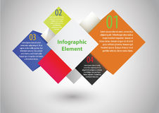 Infographic element Vector illustration. Abstract background Royalty Free Stock Photo