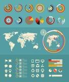 Infographic-Elementclipart vektor abbildung