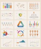 Infographic-Elemente Stockfotografie