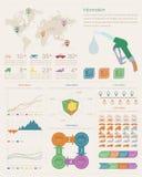 Infographic-Elemente vektor abbildung