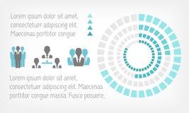 Infographic-Elemente. Lizenzfreie Stockfotografie