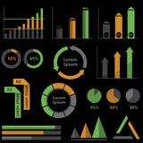 Infographic Elemente Lizenzfreie Stockfotos