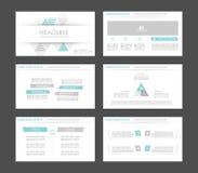 Infographic-Elemente für Darstellungsschablonen Vektor Abbildung