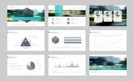 Infographic-Elemente für Darstellungsschablonen Stockfotografie