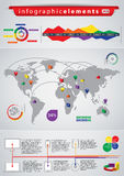 Infographic elements Royalty Free Stock Images