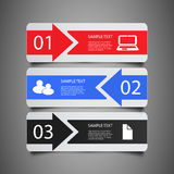 Infographic Elements - Banners Stock Images