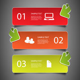 Infographic Elements - Banners Royalty Free Stock Image