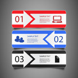 Infographic Elements - Banners Stock Photos