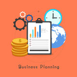 Infographic elements for Business concept. Creative Infographic elements for Business Planning concept Royalty Free Stock Photography