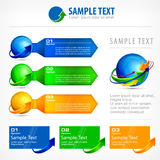 Infographic elements for business Royalty Free Stock Photo