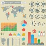 Infographic elements. Business. For you design Royalty Free Stock Images