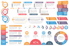 Infographic Elements Royalty Free Stock Photos